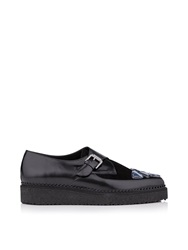 Markus Lupfer Jewelled Platform Shoes Black Black