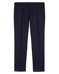 Jaeger Super 120S Wool Trousers Navy