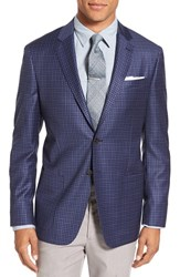Todd Snyder Men's White Label Trim Fit Gingham Wool Sport Coat