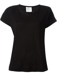 Forte Forte Plain T Shirt Black