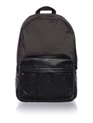 Tommy Hilfiger Logo Pocket Backpack Black