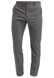 Reiss Bronte Suit Trousers Grey Dark Gray
