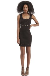 Women's Topshop Eyelet Body Con Dress