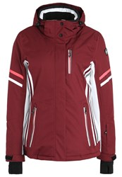 Killtec Adelle Ski Jacket Weinrot Dark Red