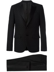 Givenchy Patterned Two Piece Suit Black