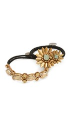Deepa Gurnani By Ponytail Holders Gold