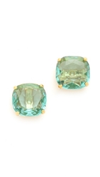 Kate Spade Small Square Stud Earrings Blue