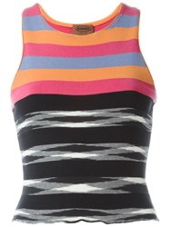 Missoni Vintage Striped Tank Top