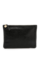 Clare V. Supreme Flat Clutch Black