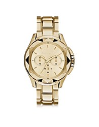 Karl Lagerfeld Karl 7 Iconic Unisex Golden Chronograph Watch
