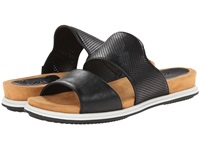 Naya Korthay Black Leather Women's Sandals