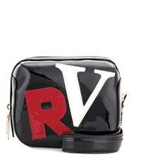 Roger Vivier Patent Leather Clutch Black