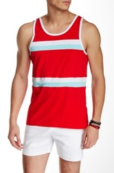 Parke And Ronen Olympian Tank Red
