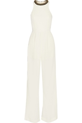 Sass And Bide Create A World Embellished Twill And Crepe Jumpsuit