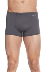 Men's Naked 'Active' Microfiber Trunks Grey