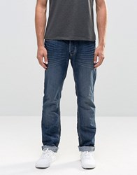 Blend Of America Twister Slim Fit Jeans In Crinkle Denim Crinkle Blue