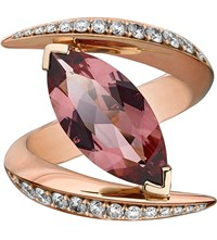 Shaun Leane Aerial 18Ct Rose Gold And Diamond Ring