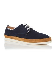 Peter Werth Caine Lace Up Shoe Navy