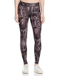 Hpe Snake Print Freshfit Compression Leggings Black Snake