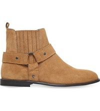 Kg By Kurt Geiger Jackson Suede Boots Tan