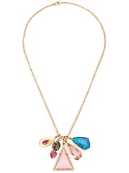 Irene Neuwirth 18Kt Gold And Mixed Gemstone Necklace Metallic