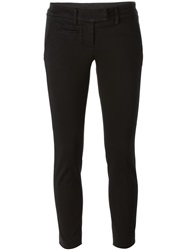 Dondup Cropped Trousers Black