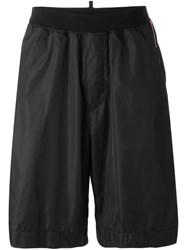 Dsquared2 Loose Fit Track Shorts Black
