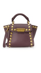 Zac Posen Eartha Mini Cross Body Bag Merlot