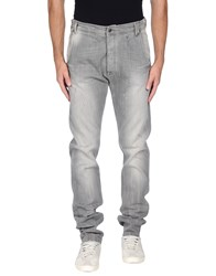 Daniele Alessandrini Denim Denim Trousers Men Grey