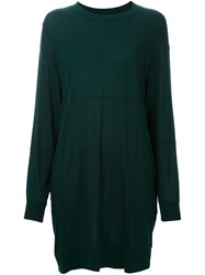 Maison Martin Margiela Mm6 Sweater Dress Green