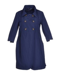 Hope Collection Full Length Jackets Blue
