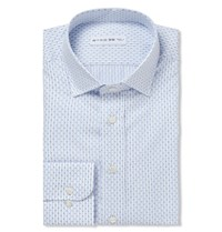 Etro Striped Cotton Shirt Blue