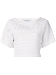 Viktor And Rolf Mesh Shirt White