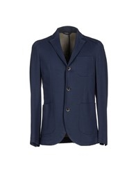 Jeckerson Suits And Jackets Blazers Men Dark Blue
