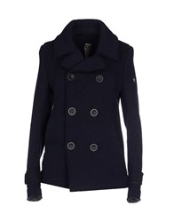 Swiss Chriss Suits And Jackets Blazers Women Dark Blue