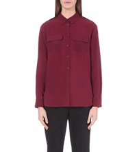 French Connection Pippa Woven Shirt Red