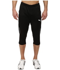 Puma 3 4 Training Pant Black White Men's Casual Pants
