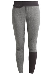 Gore Running Wear Sunlight Lady Thermo Tracksuit Bottoms Raven Brown Dark Grey