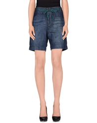 Jucca Denim Bermudas Blue