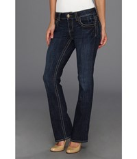 Kut From The Kloth Natalie High Rise Bootcut Short Inseam In Vargos Vargos Women's Jeans Blue