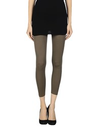Alpha Studio Trousers Leggings Women Khaki