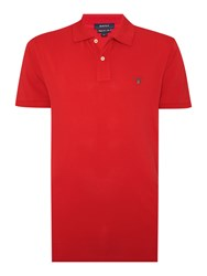 Gant Pique Polo Shirt True Red