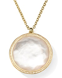 Ippolita 18K Gold Rock Candy Large Lollipop Necklace In Doublet And Diamonds