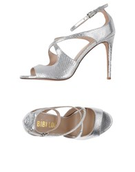 Bibi Lou Footwear Sandals Women Silver