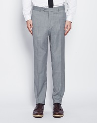 The Idle Man Suit Trousers In Skinny Fit Grey