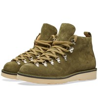 Fracap M120 Natural Vibram Sole Scarponcino Boot Green