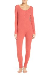Make Model Women's Ribbed Lounge Jumpsuit