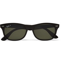 Ray Ban Wayfarer Folding Acetate Sunglasses Black