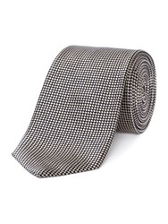 Chester Barrie Patterned Tie Ecru