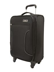 Antler Cyberlite Black And Silver Small Rollercase
